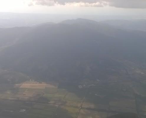 Il monte Serra visto da Est